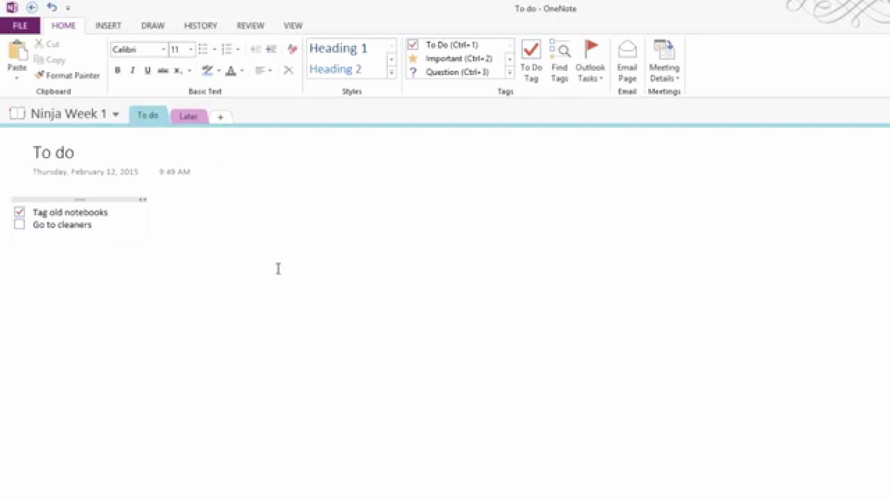 Onenote to Do List Template Fresh How to Create to Do Lists In Enote