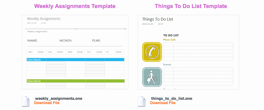 Onenote to Do List Template Fresh Vincent S Reviews Use Enote Templates to Streamline
