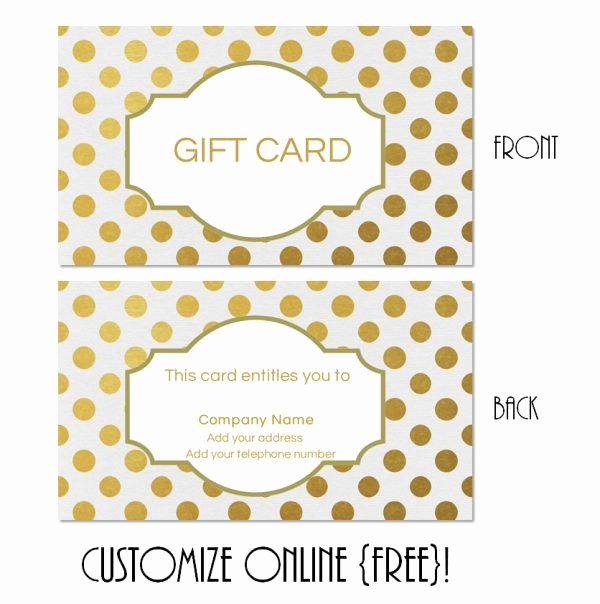 Online Gift Certificate Template Best Of Free Printable T Card Templates that Can Be Customized