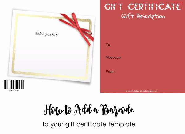 Online Gift Certificate Template New Free Gift Certificate Template 101 Designs