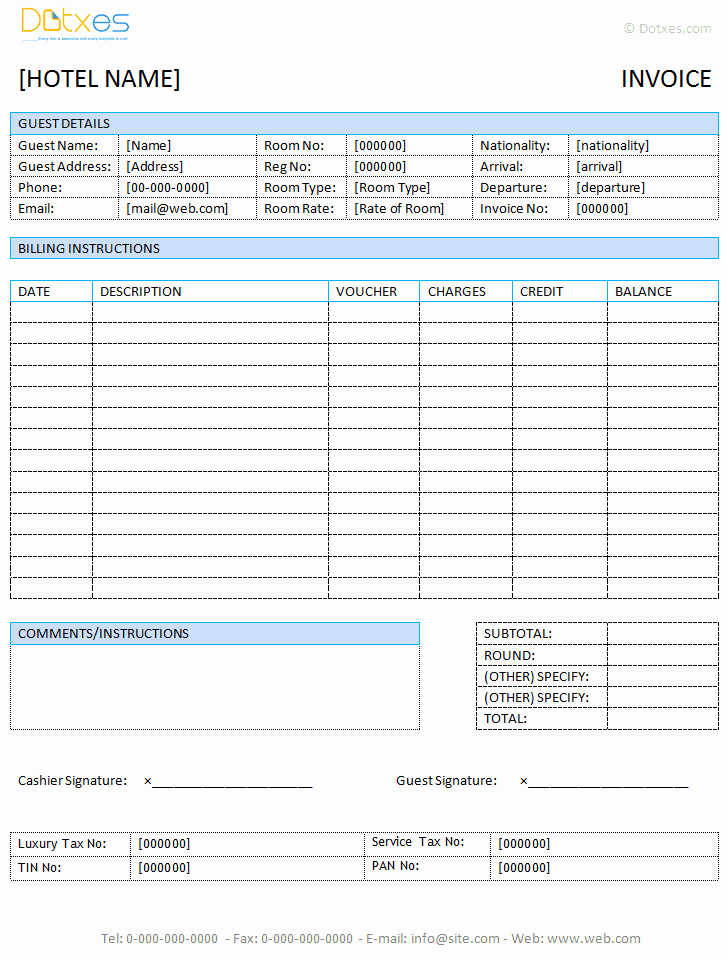 Open Office Invoice Template Free New Free Invoice Template for Word Excel Open Fice and