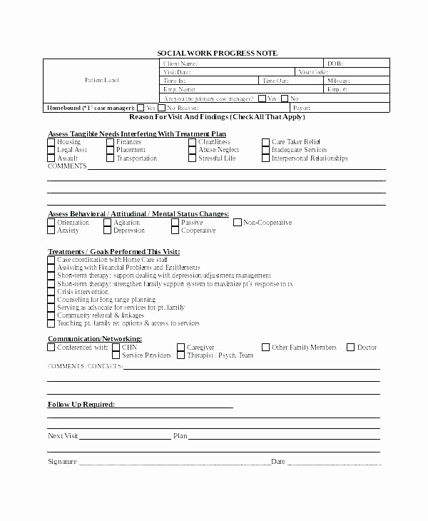 Outpatient Psychiatric Progress Note Template Unique Outpatient Progress Note Template – Ijbcr