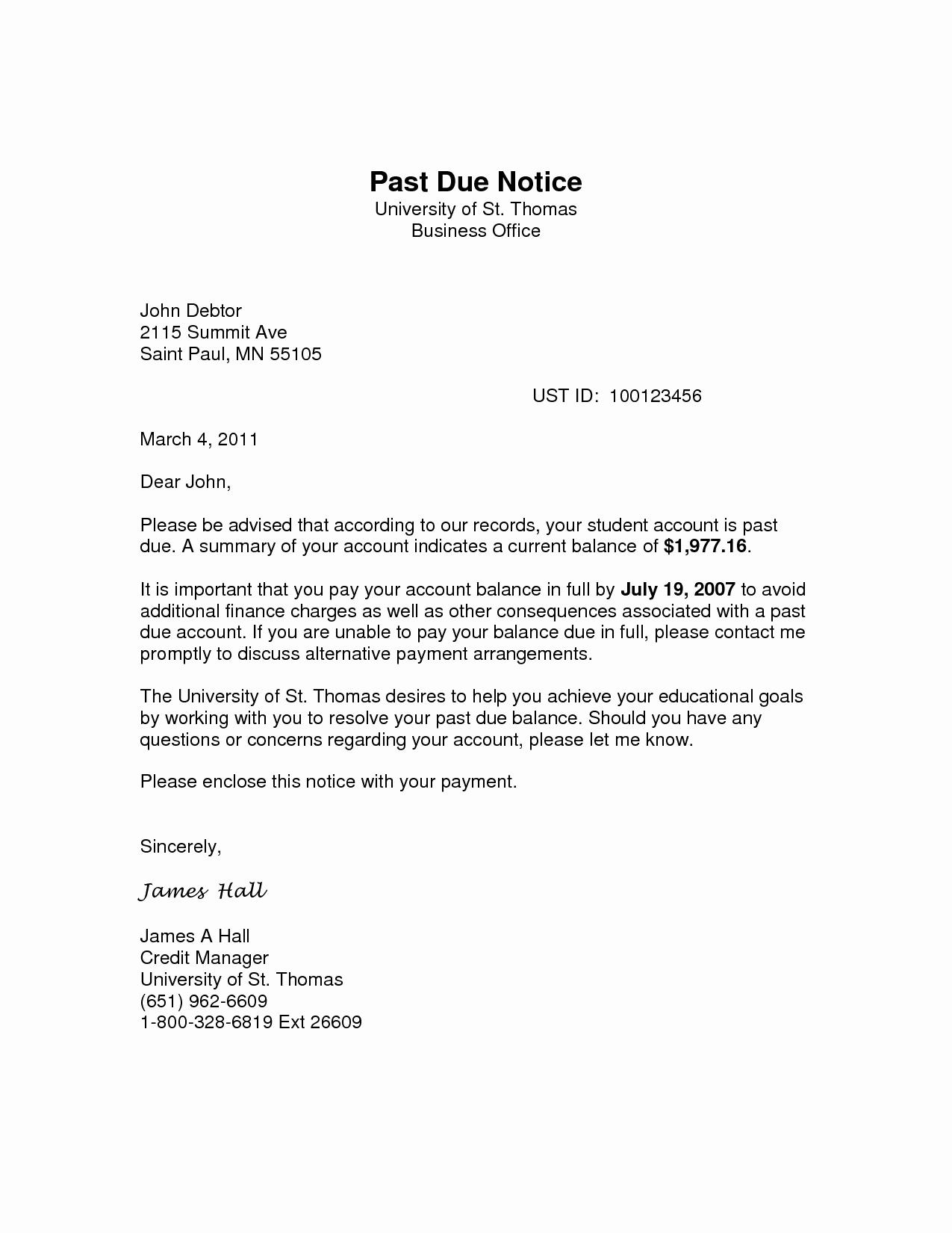 Past Due Rent Notice Template Elegant 28 Past Due Rent Notice Template