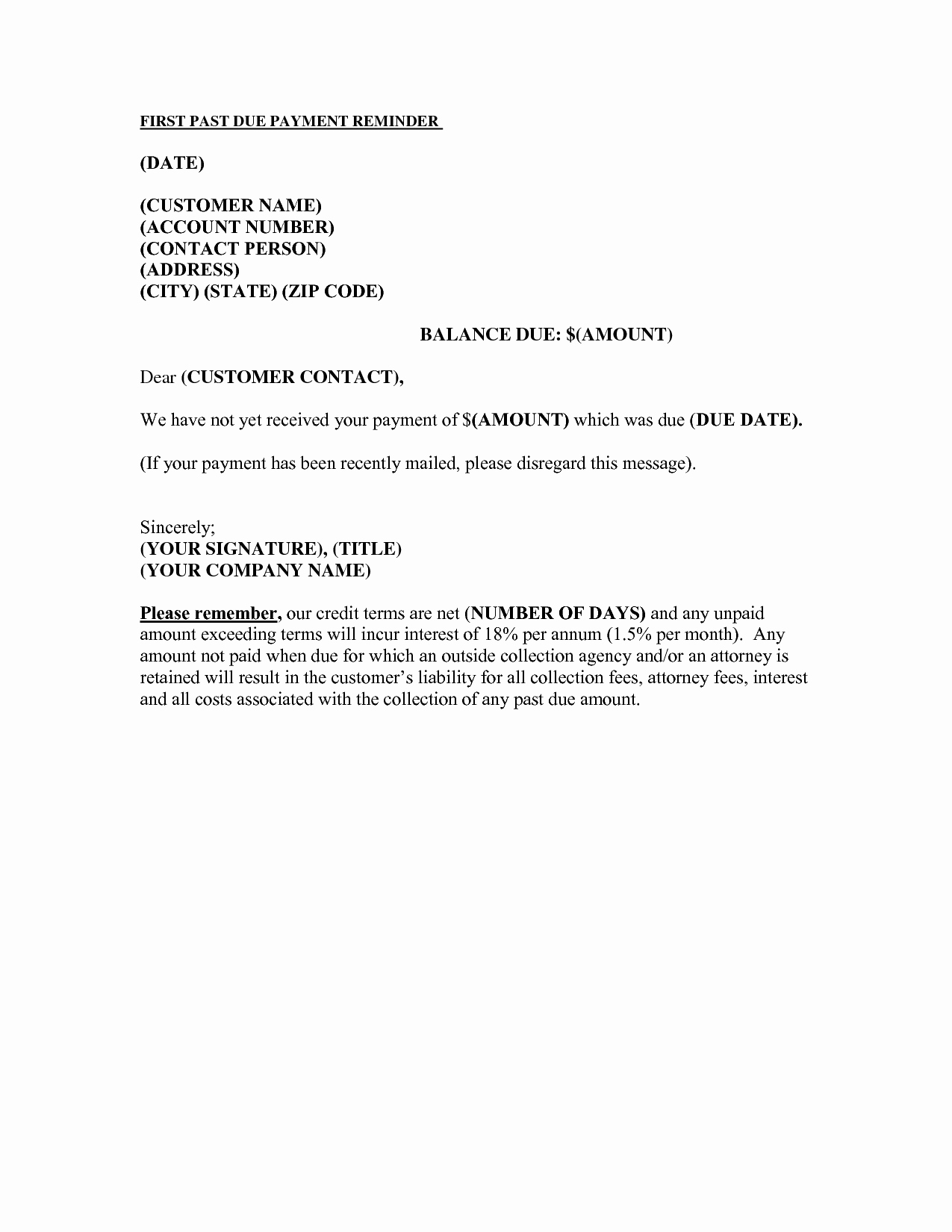 Past Due Rent Notice Template Elegant Notice Template Category Page 2 Efoza