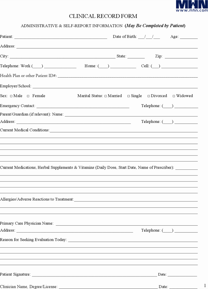 Patient Progress Note Template Fresh 9 Progress Note Templates Free Download