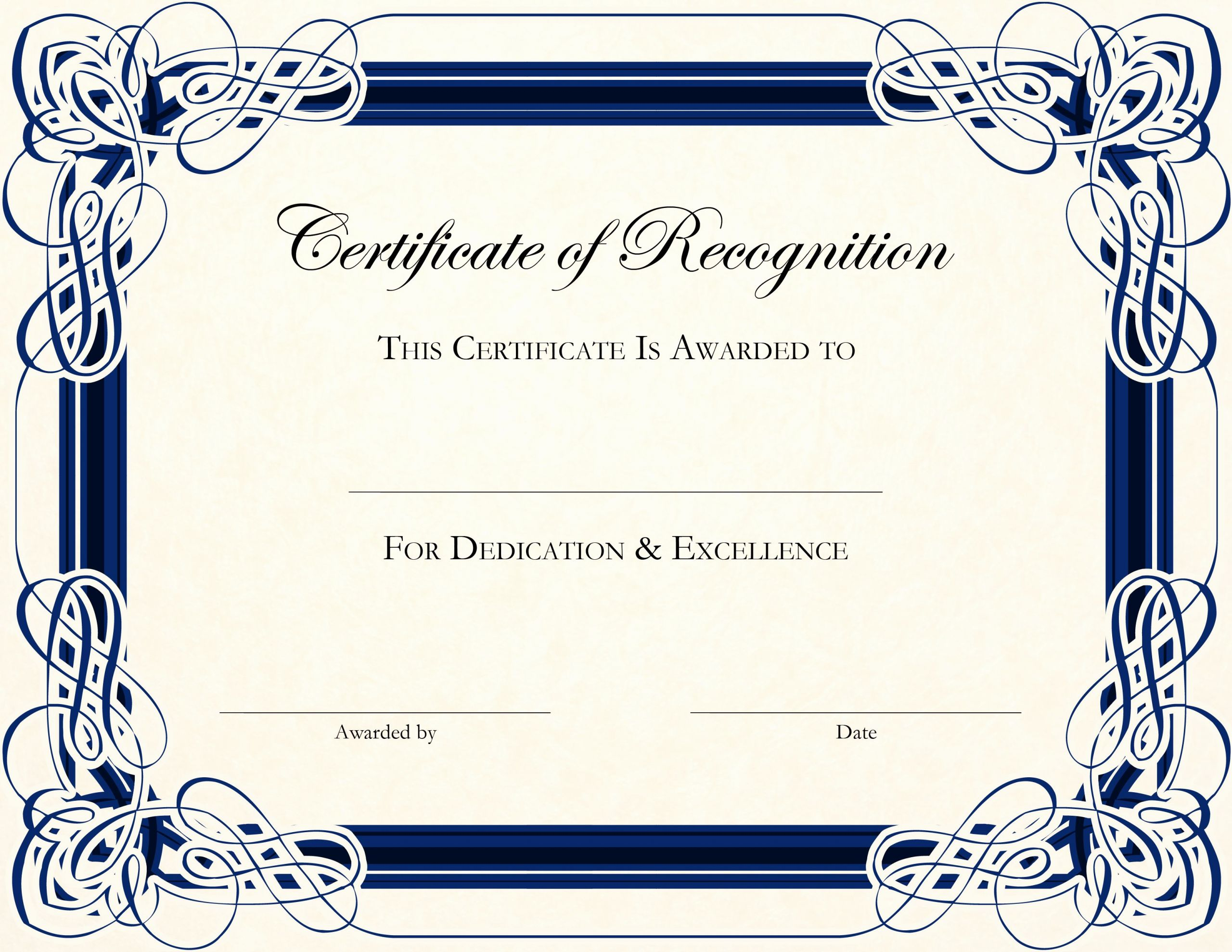 Pdf Certificate Template Free Awesome Certificate Template Designs Recognition Docs