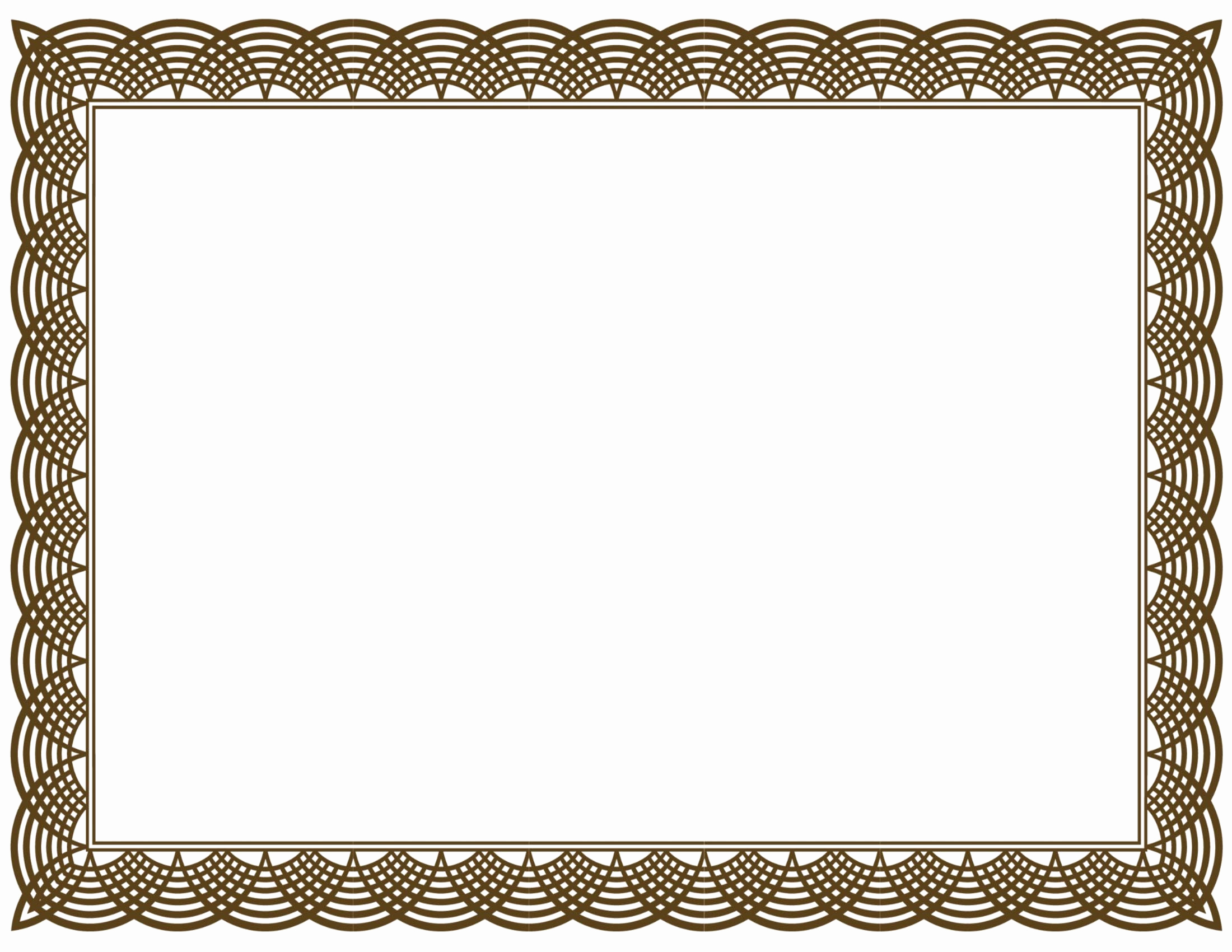 Pdf Certificate Template Free Best Of Award Certificate Border Pdf Template
