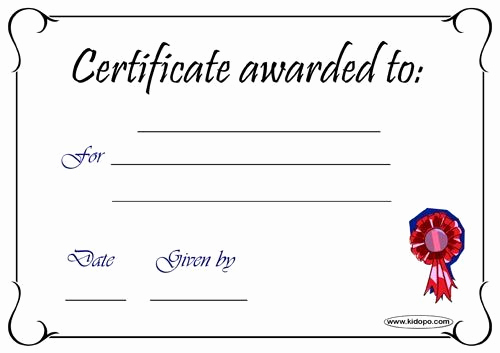 Pdf Certificate Template Free Inspirational Blank Certificates Pdf