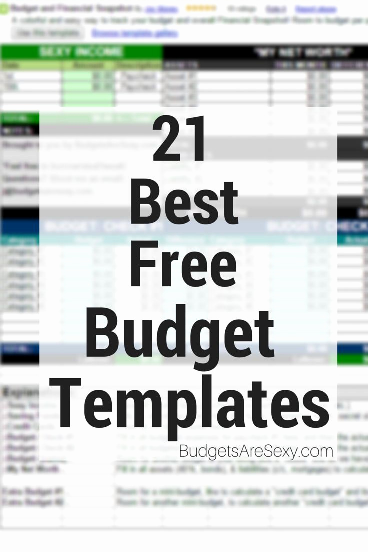 Personal Budget Spreadsheet Template Fresh Best Free Bud Templates & Spreadsheets