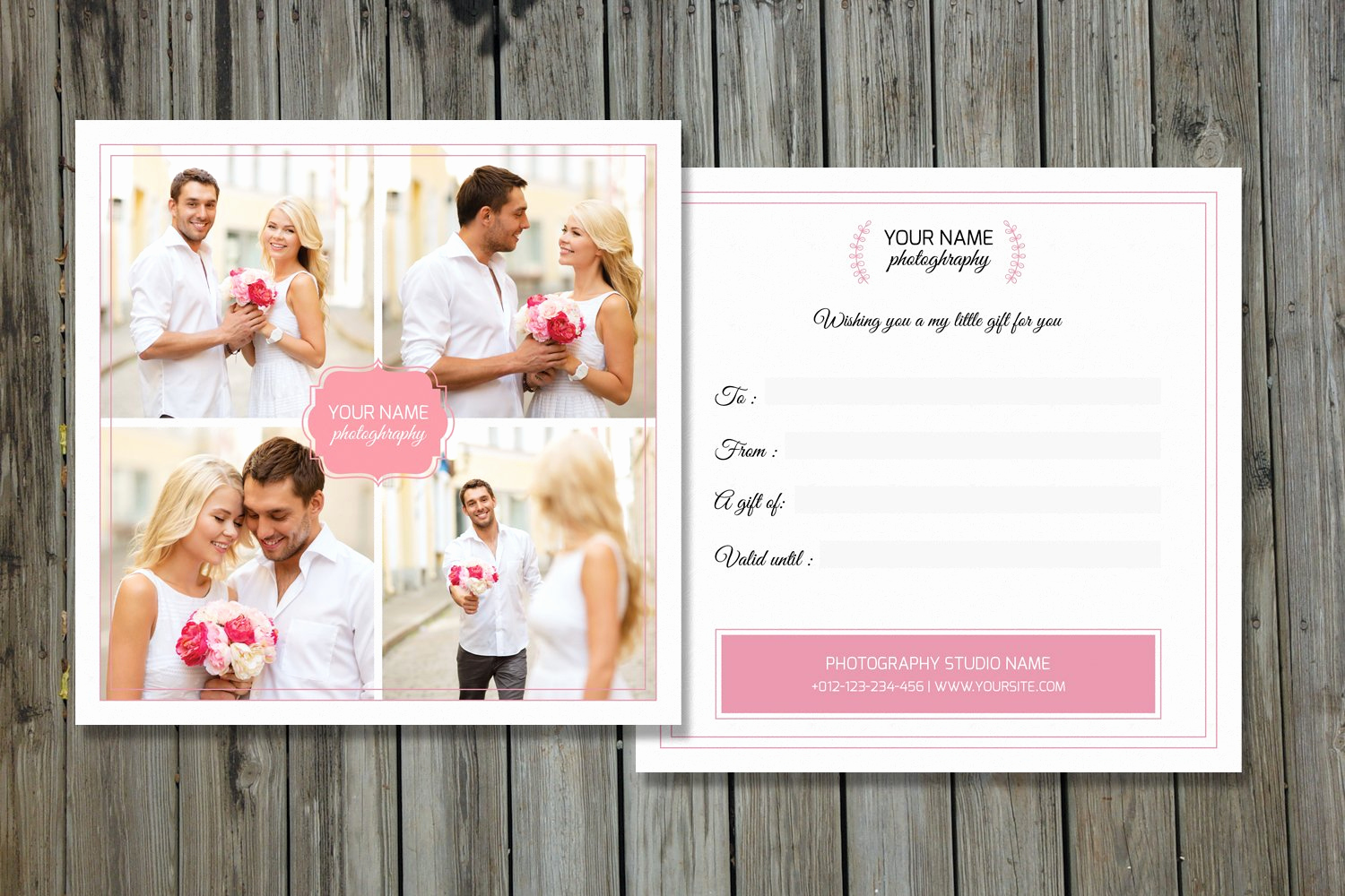 Photo Gift Certificate Template Lovely Grapher Gift Certificate V01 Card Templates