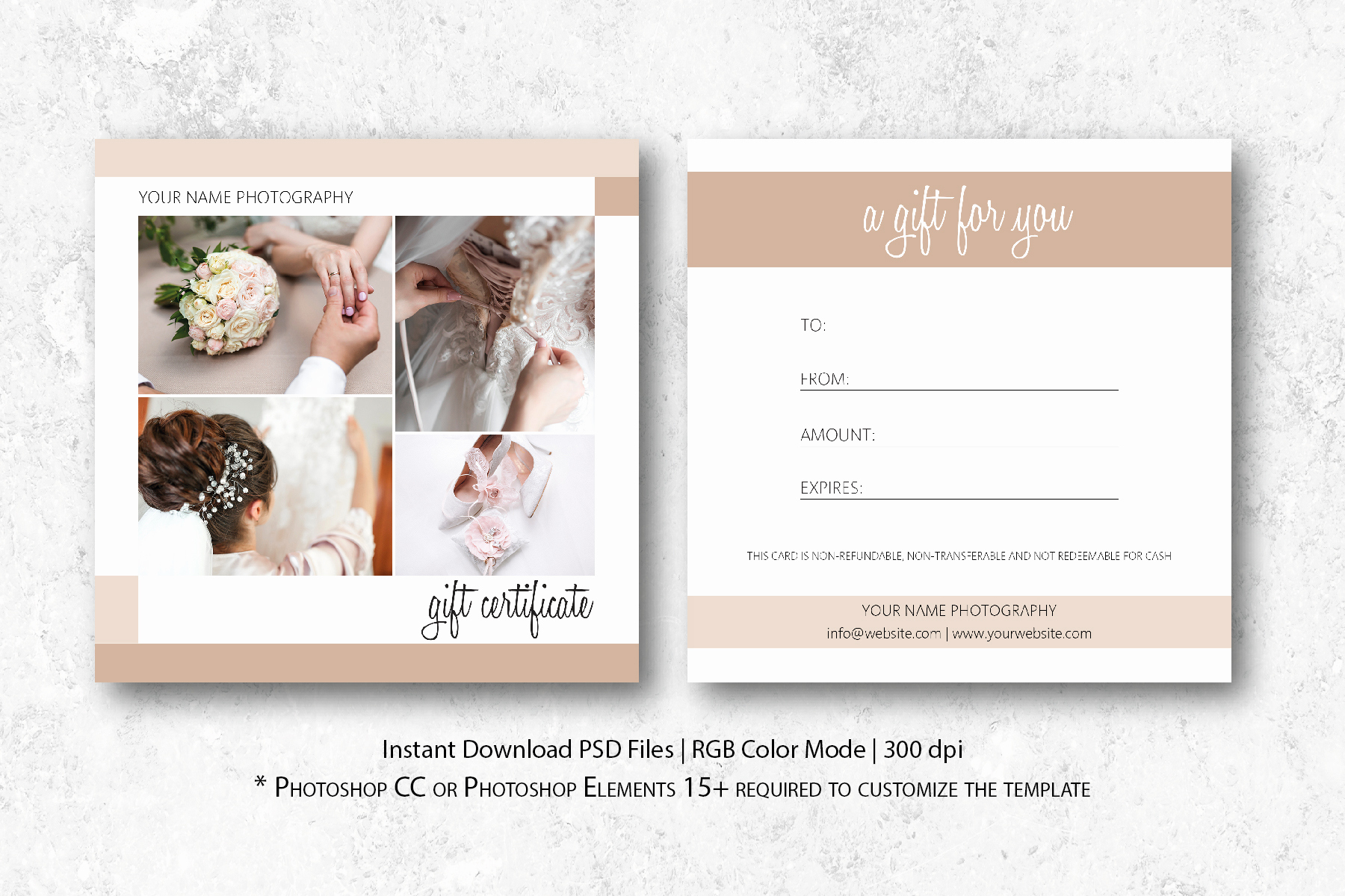 Photo Gift Certificate Template Lovely Graphy Gift Certificate Template