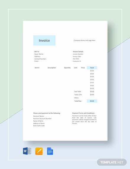 Photography Invoice Template Word Lovely Graphy Invoice Template 10 Free Word Excel Pdf