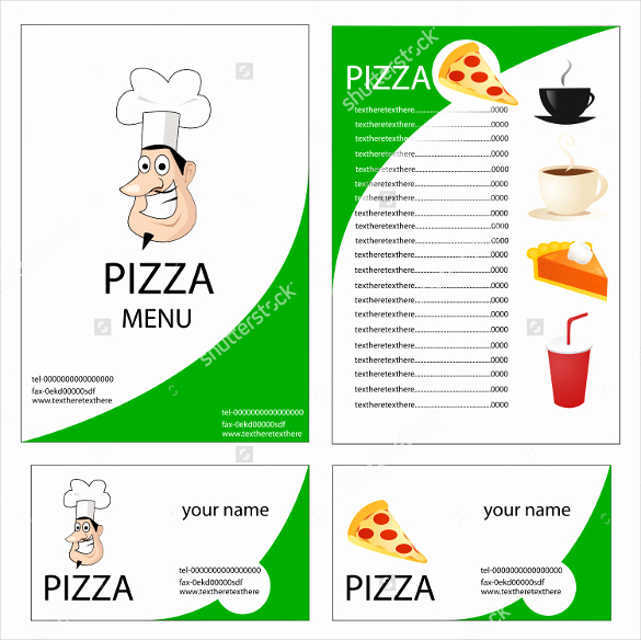 Pizza Menu Template Free Inspirational 29 Pizza Menu Templates – Free Sample Example format