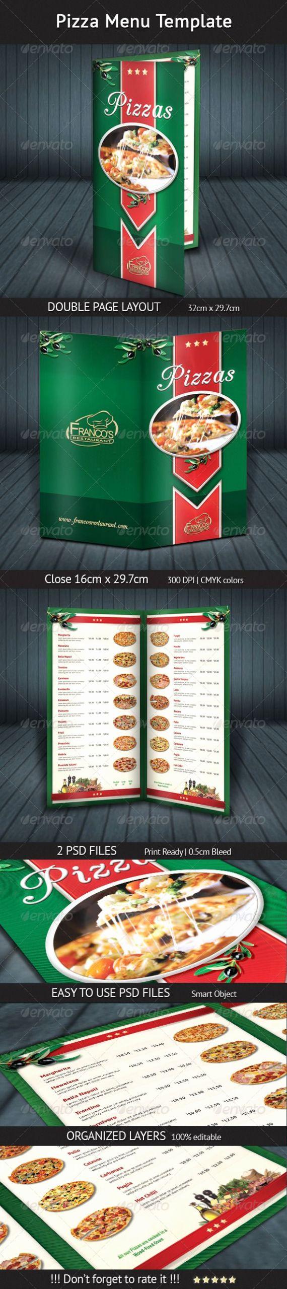 Pizza Menu Template Free Inspirational Pizza Menu Template