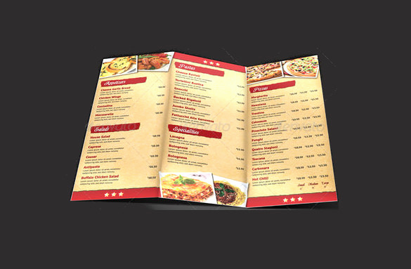 Pizza Menu Template Free New 33 Pizza Menu Templates Free Sample Example format