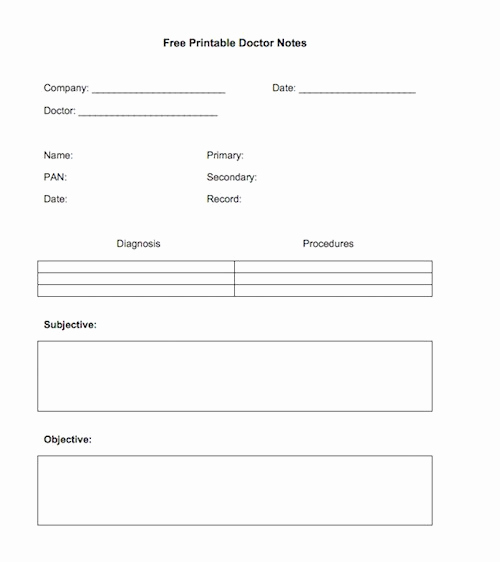 Printable Doctor Note Template Inspirational 27 Free Doctor Note Excuse Templates Free Template