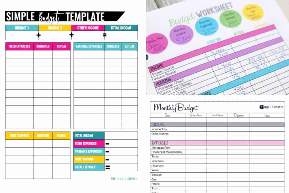 Printable Home Budget Template Elegant 10 Bud Templates that Will Help You Stop Stressing