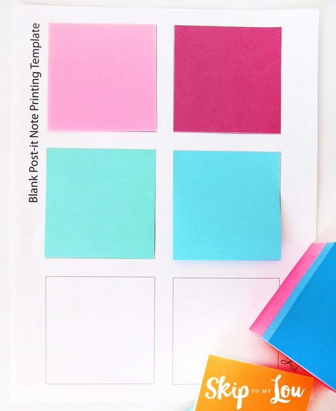 Printable Post It Notes Template Best Of Printable Custom Post It Notes Reminders