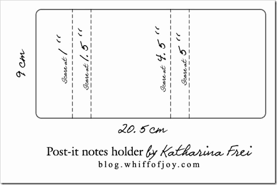 Printable Post It Notes Template Best Of Template for the Post It Notes Holder