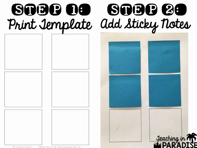 Printable Post It Notes Template Elegant How to Print On Sticky Notes A Tutorial and Free Template