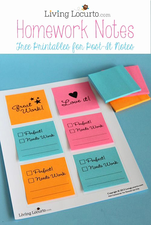 Printable Post It Notes Template Lovely 183 Best Images About Post It Note Ideas On Pinterest