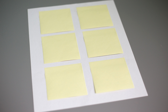 Printable Post It Notes Template Luxury How to Print Sticky Notes I Heart Planners