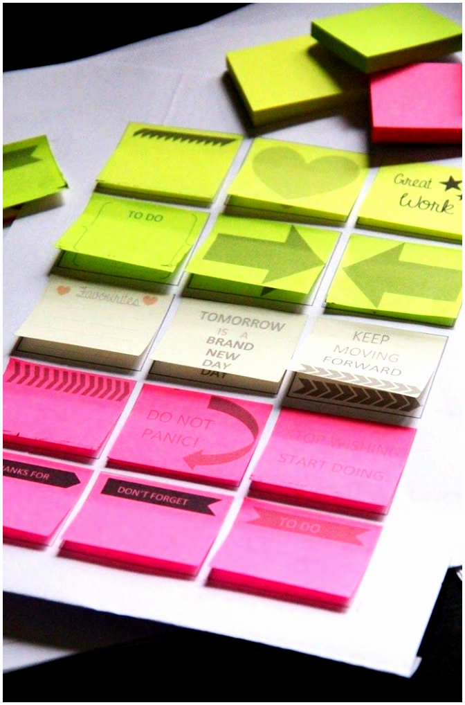 Printable Post It Notes Template Unique 12 Printable Sticky Notes Template