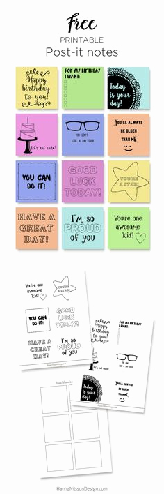 Printable Post It Notes Template Unique Diy Secret How to Print On Post It Notes and Free