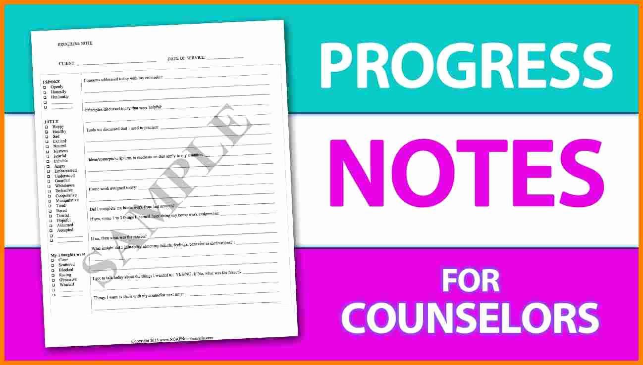 Progress Note Template Pdf Luxury Psychotherapy Progress Note Template Pdf