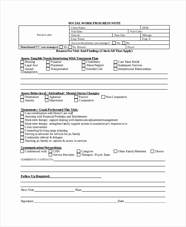Psychotherapy Note Template Word Best Of Psychotherapy Progress Note Template Pdf