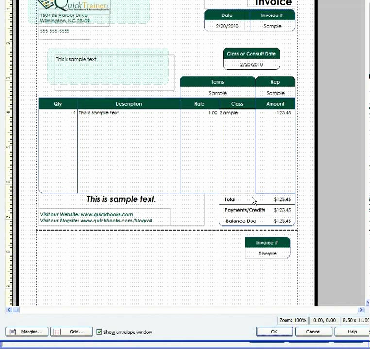 Quickbooks Invoice Template Download Beautiful Customizing A Quickbooks Invoice Template to Include A