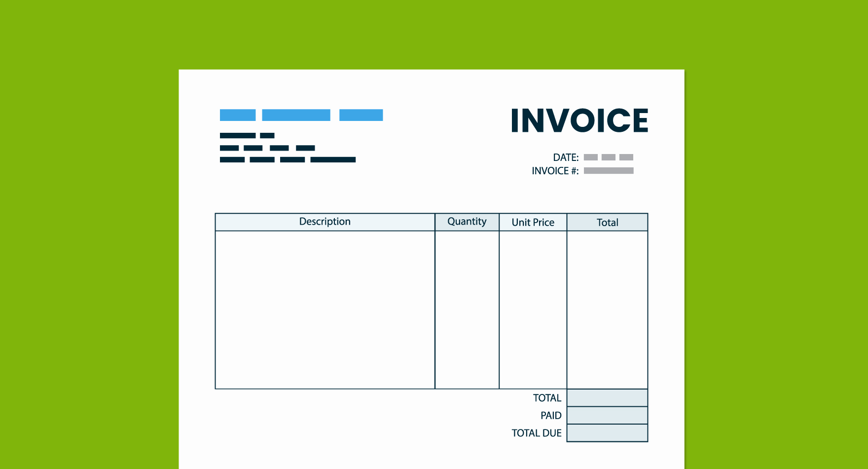 Quickbooks Invoice Template Download Inspirational Free Quickbooks Invoice Template