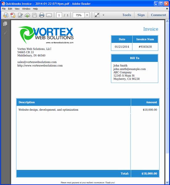 Quickbooks Invoice Template Download Unique Invoice Template Quickbooks