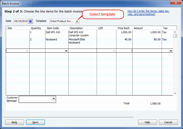 Quickbooks Invoice Template Download Unique Quickbooks 2011 Batch Invoicing Practical Quickbooks