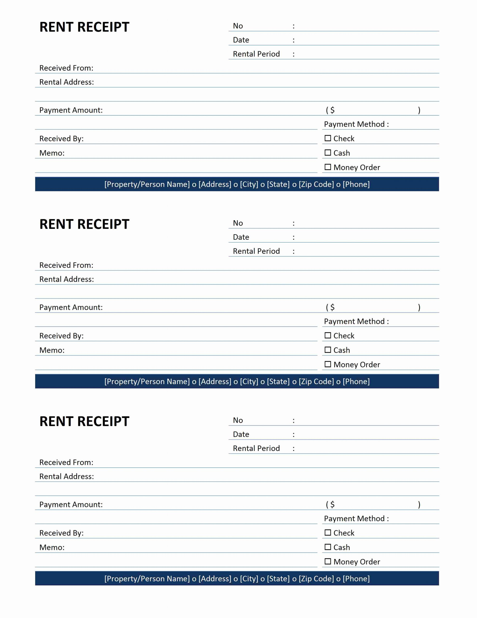 Rent Invoice Template Free Awesome Rent Receipt