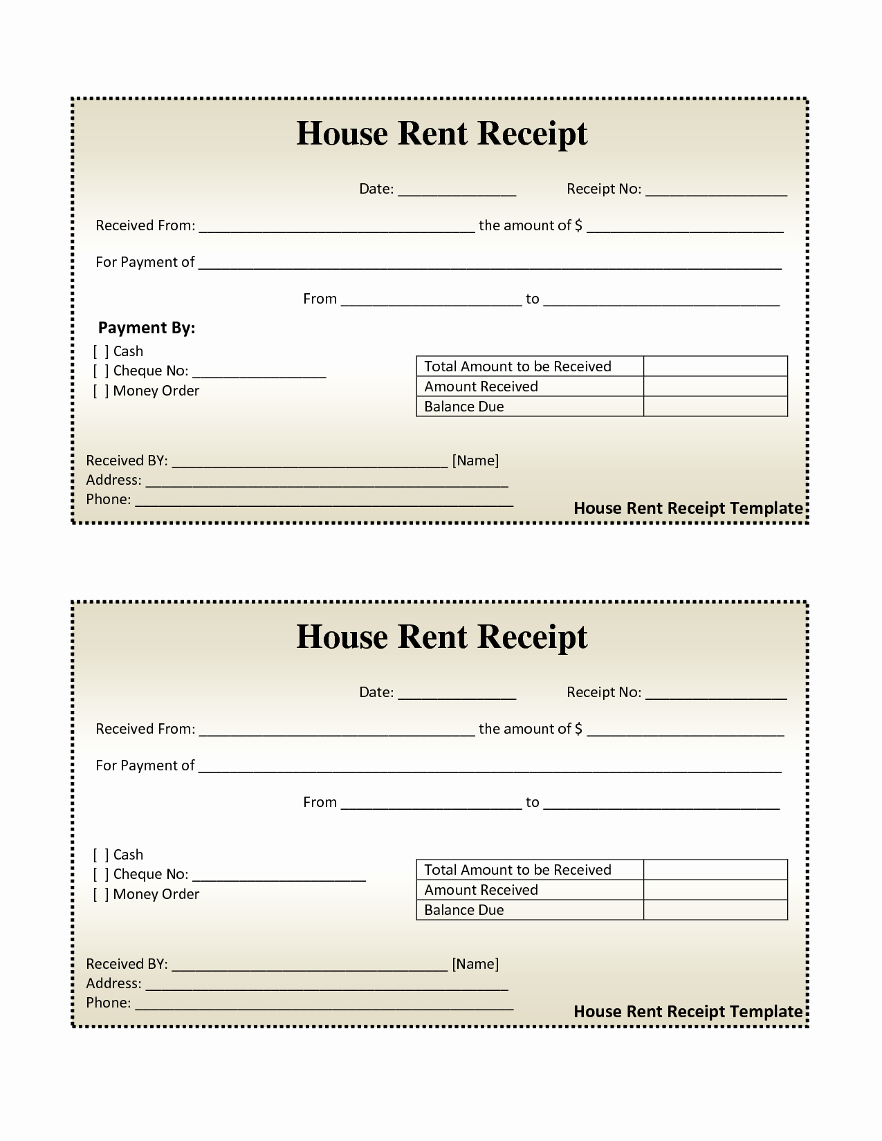 Rent Invoice Template Free Luxury Free House Rental Invoice