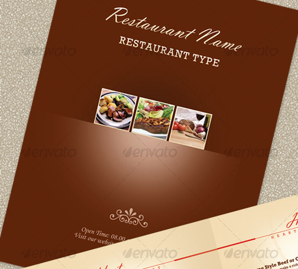 Restaurant Menu Template Psd Awesome 23 Creative Restaurant Menu Templates Psd & Indesign