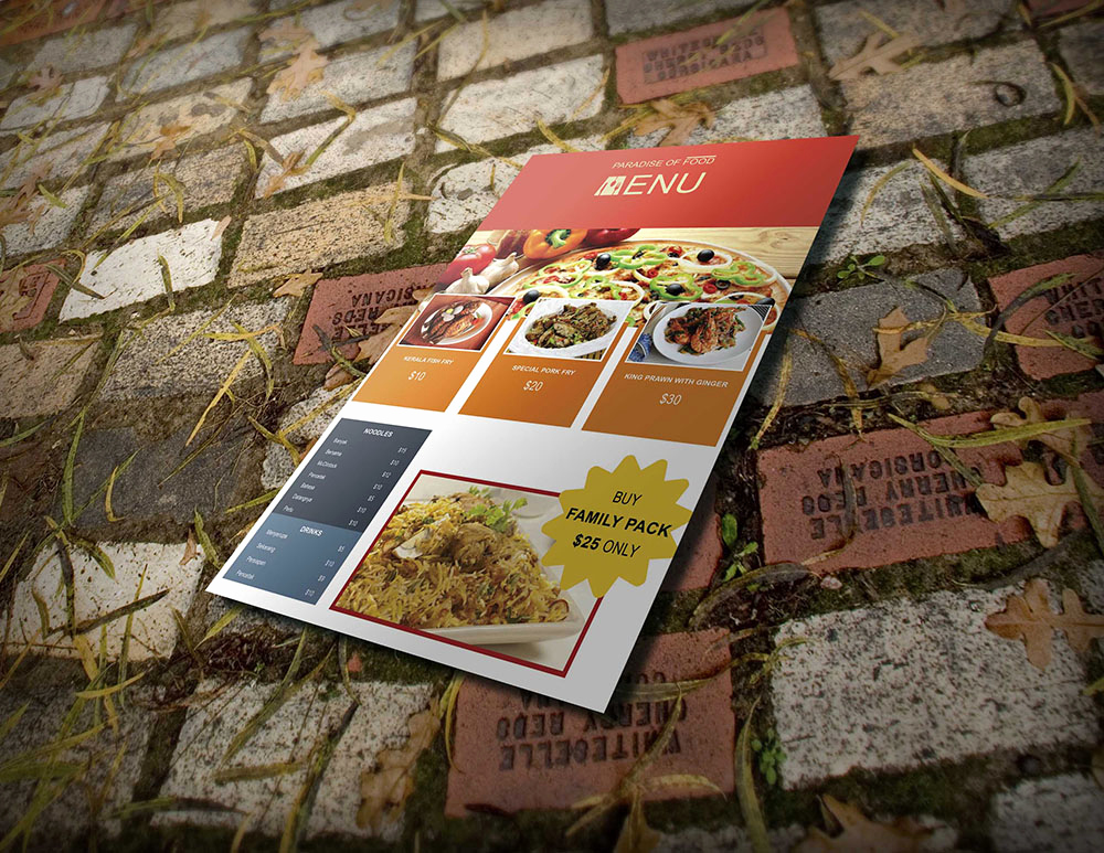 Restaurant Menu Template Psd Best Of 50 Free Psd Restaurant Flyer Menu Templates
