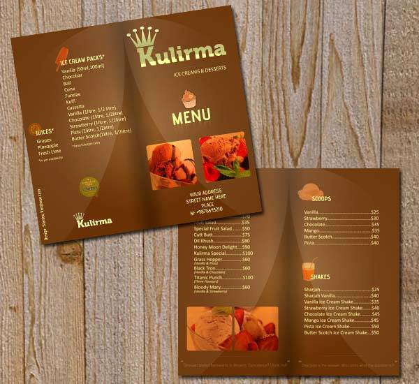 Restaurant Menu Template Psd Best Of 60 Free & Premium Psd Brochure Templates Webprecis