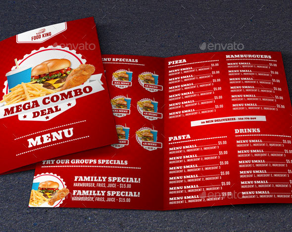 Restaurant Menu Template Psd Fresh 40 Effective Psd Restaurant Menu Design Templates – Bashooka