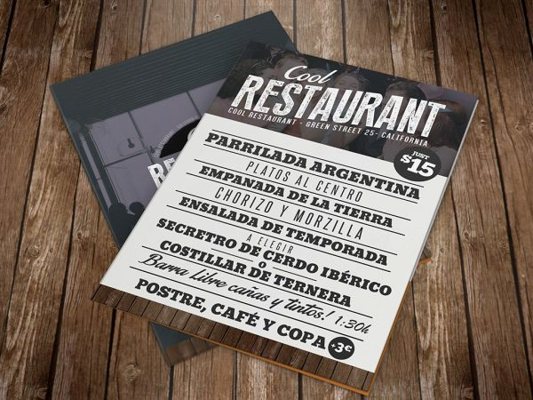 Restaurant Menu Template Psd Fresh Hipster Party Flyer Template Shop Graphicfy