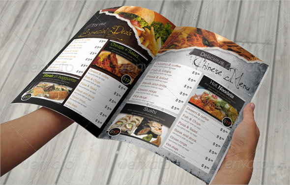 Restaurant Menu Template Psd Unique 57 Restaurant Menu Templates Design Psd Docs Pages