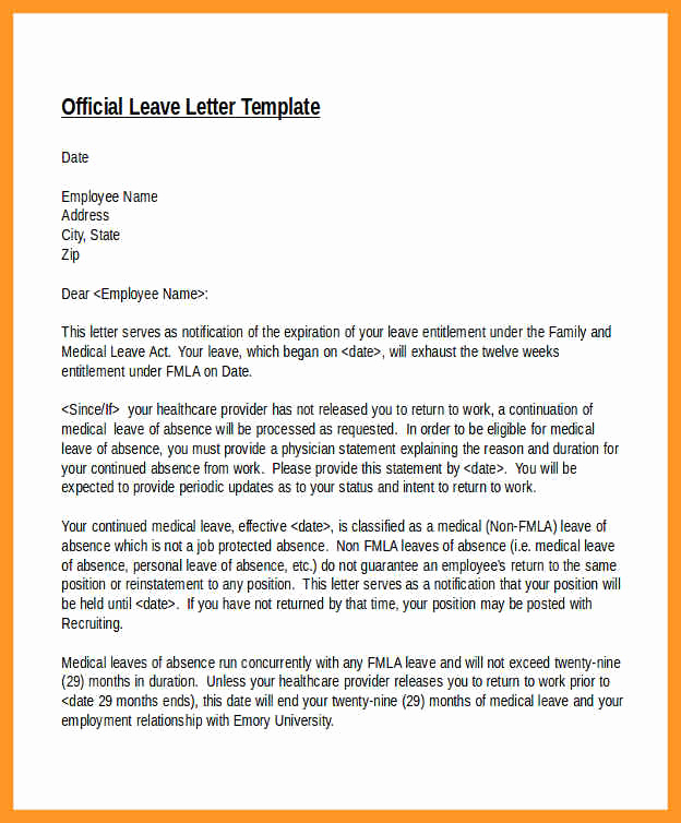 Return to Work Note Template New Return to Work Letter From Doctor