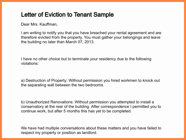 Roommate Eviction Notice Template Lovely 9 Eviction Notice for Roommate