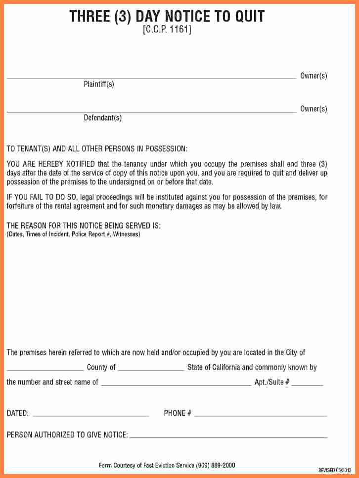 Roommate Eviction Notice Template Luxury 4 30 Day Notice to Roommate