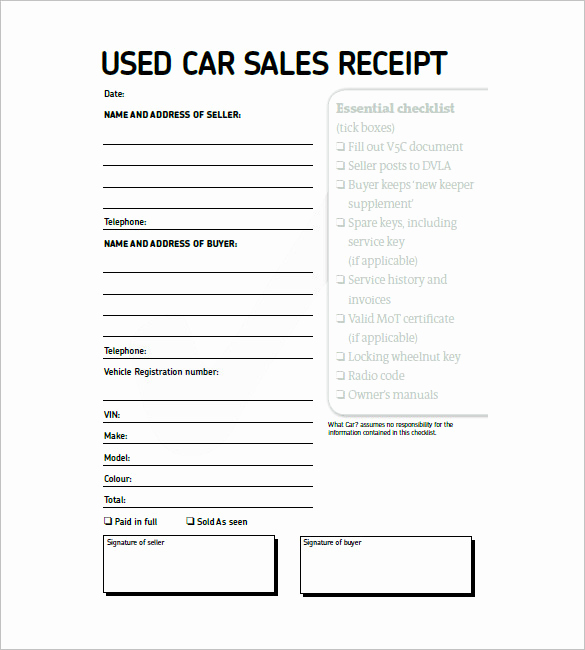 Sales Invoice Template Word Beautiful Car Sales Invoice Template Free Download