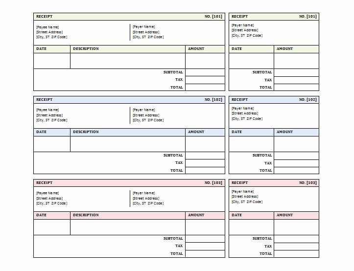 Sales Invoice Template Word Elegant Sales Receipt Template Free Printable Receipts