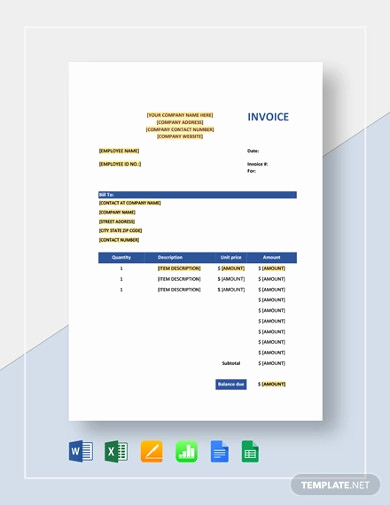 Sales Invoice Template Word Fresh Free 16 Sales Invoice Examples & Samples In Pdf