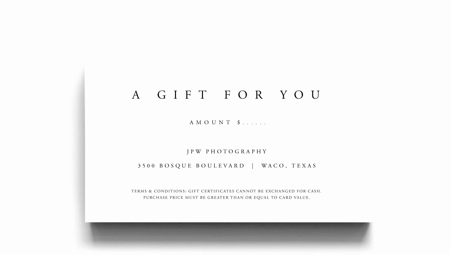 Sample Gift Certificate Template Best Of Gift Certificate Template A Gift for You Gift Voucher