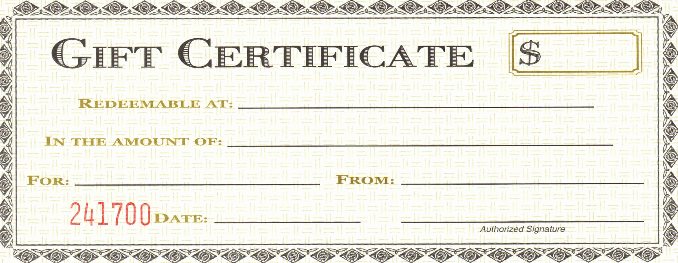 Sample Gift Certificate Template New 18 Gift Certificate Templates Excel Pdf formats